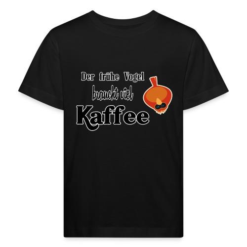 kaffeeVogel.png - Kinder Bio-T-Shirt