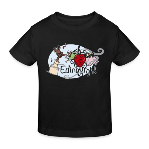 I love Edinburgh - Kids' Organic T-Shirt