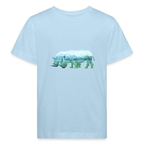 RHINOS, DIE NASHÖRNER IN DEN ALPEN - Kinder Bio-T-Shirt