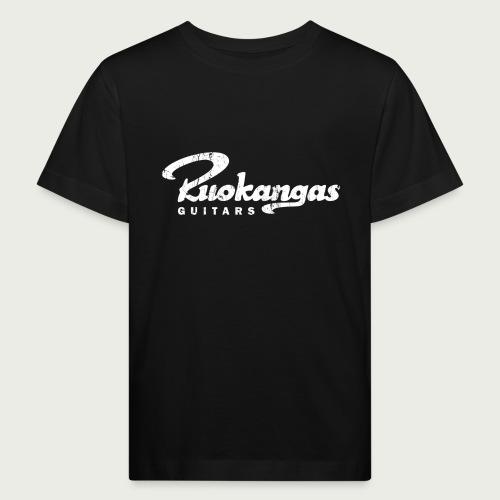 RuokangasGuitars white - Kids' Organic T-Shirt