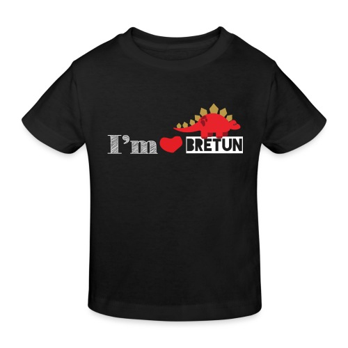 IM CORAZON BRETUN - Camiseta ecológica niño