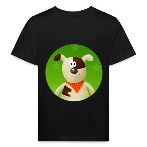 Knut Wuff - Hintergrund - Kinder Bio-T-Shirt