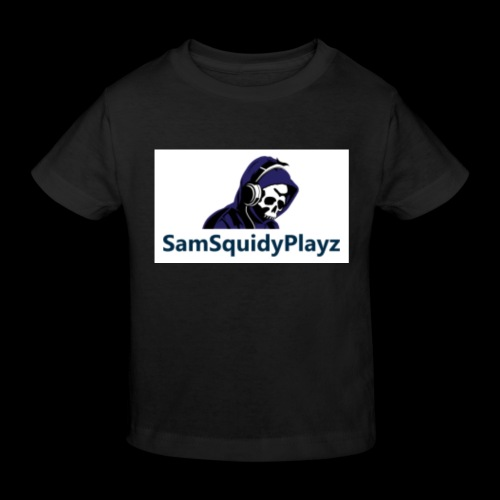 SamSquidyplayz skeleton - Kids' Organic T-Shirt