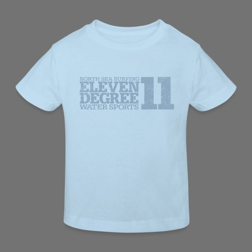 eleven degree light blue (oldstyle) - Kids' Organic T-Shirt