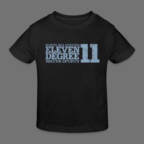eleven degree light blue (oldstyle) - Kids' Organic T-Shirt