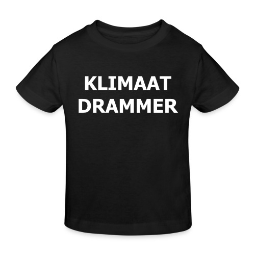 Klimaat Drammer - Kids' Organic T-Shirt