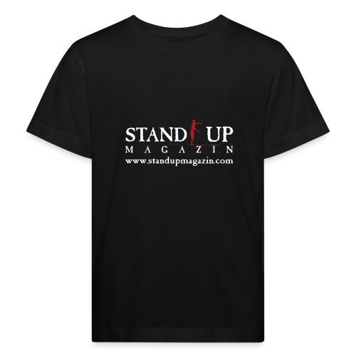 sup mag shirt front weiss - Kinder Bio-T-Shirt