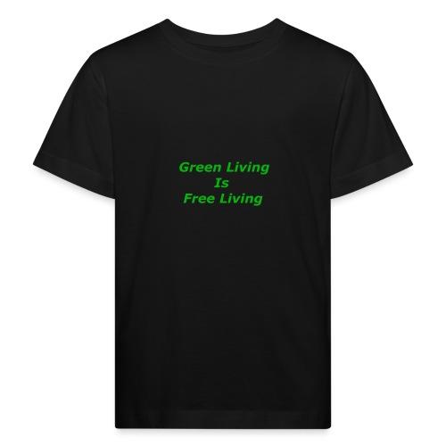 Green Living - Organic børne shirt