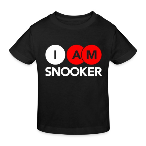 I AM SNOOKER - Kids' Organic T-Shirt