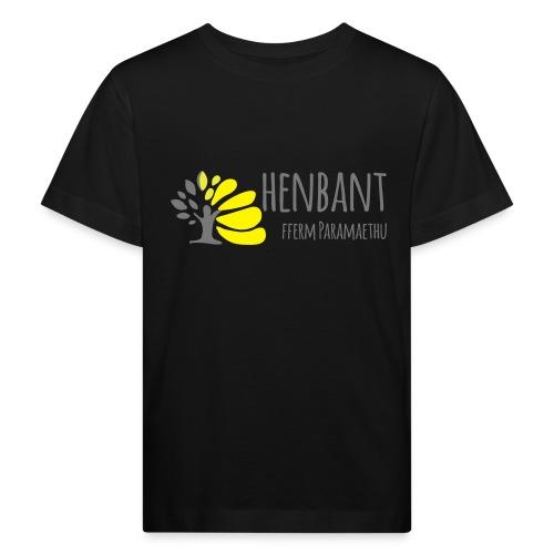 henbant logo - Kids' Organic T-Shirt