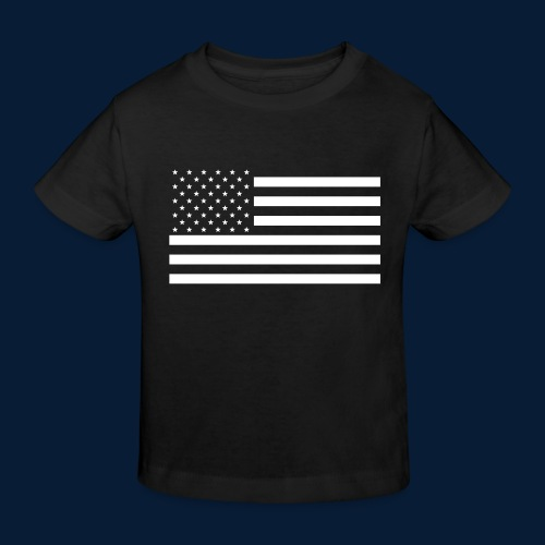 Stars and Stripes White - Kinder Bio-T-Shirt
