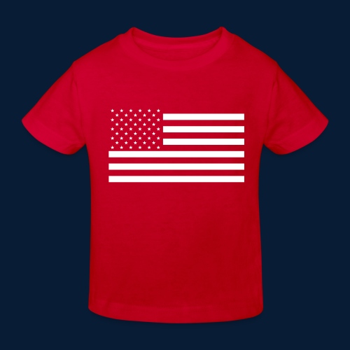 Stars and Stripes White - Kinder Bio-T-Shirt