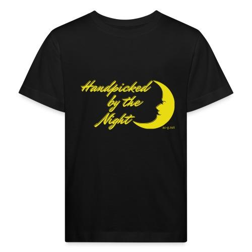 Handpicked design By The Night - Logo Yellow - Kids' Organic T-Shirt