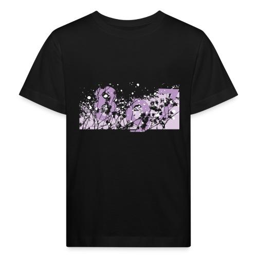pink digital theme 897 - Ekologiczna koszulka dziecięca