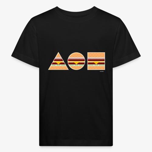 Graphic Burgers - Maglietta ecologica per bambini
