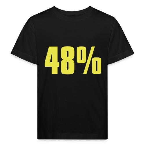 48% - Kids' Organic T-Shirt