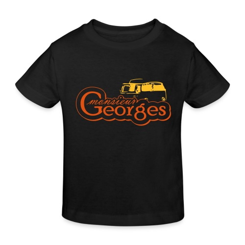 monsieur georges2 - Kinderen Bio-T-shirt