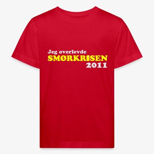 Smørkrise 2011 - Norsk - Økologisk T-skjorte for barn