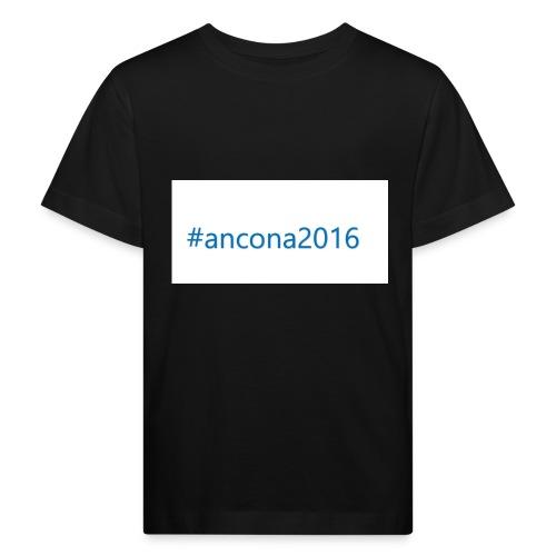 #ancona2016 - Camiseta ecológica niño