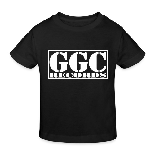 GGC-Records Label-Stempel - Kinder Bio-T-Shirt