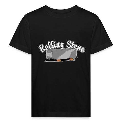 roll, stone, concrete, - Ekologiczna koszulka dziecięca