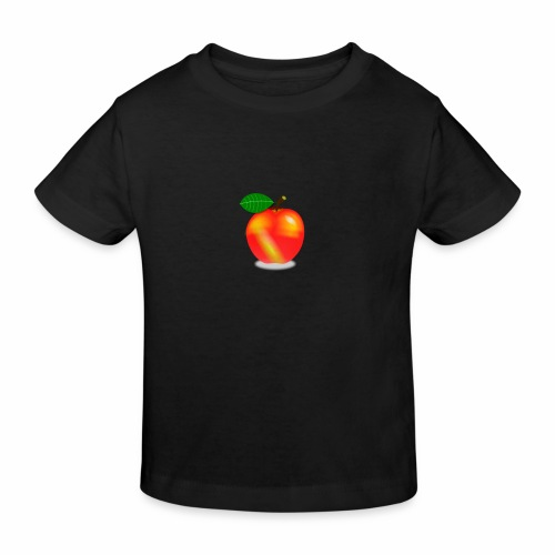 Apfel - Kinder Bio-T-Shirt