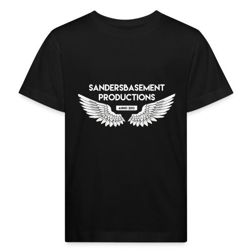 T SHIRT logo wit png png - Kinderen Bio-T-shirt