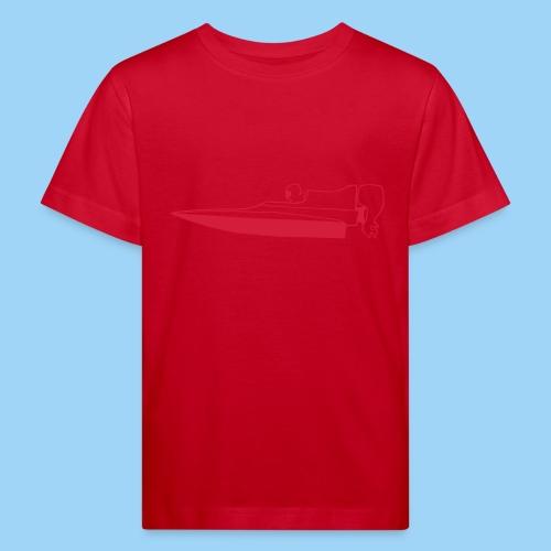 Powerboat GT30/GT15 RED Flip - Ekologisk T-shirt barn