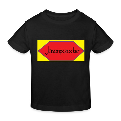 Jasonpczocker Design für gelbe Sachen - Kinder Bio-T-Shirt