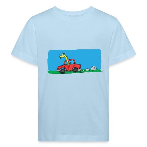 La girafe conductrice - T-shirt bio Enfant