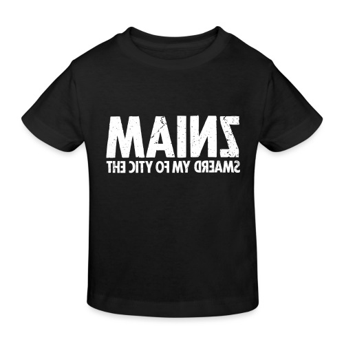 Mainz (white oldstyle) - Kinder Bio-T-Shirt