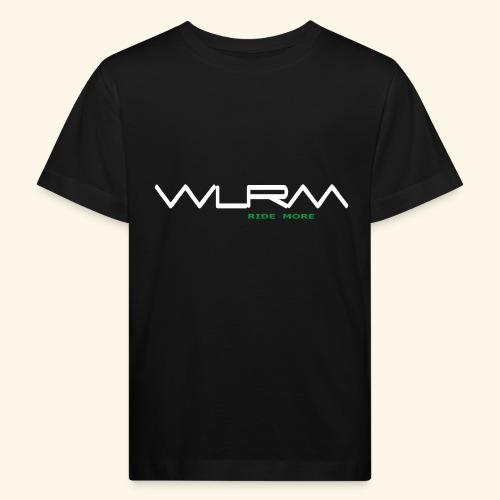 WLRM Schriftzug white png - Kinder Bio-T-Shirt