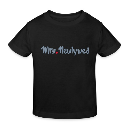 Mrs Newlywed - Kids' Organic T-Shirt