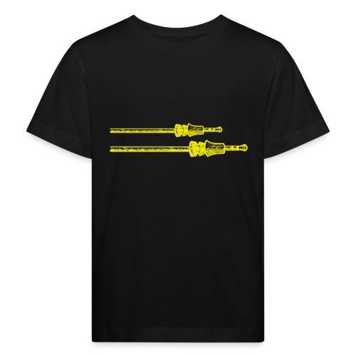 plug in png - Kinderen Bio-T-shirt