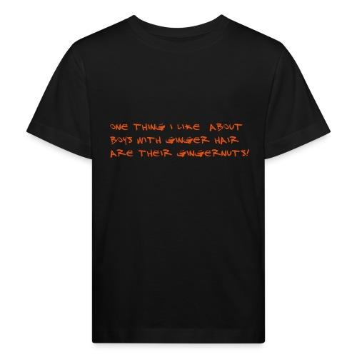gingernuts - Lasten luonnonmukainen t-paita