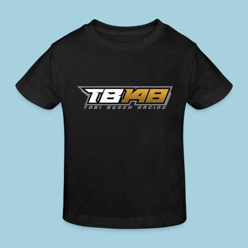 Tobi Logo Grau - Kinder Bio-T-Shirt