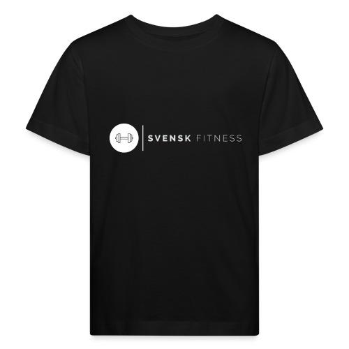 Vit vertikal logo dam - Ekologisk T-shirt barn