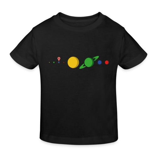 Kugel Maps - Kinder Bio-T-Shirt