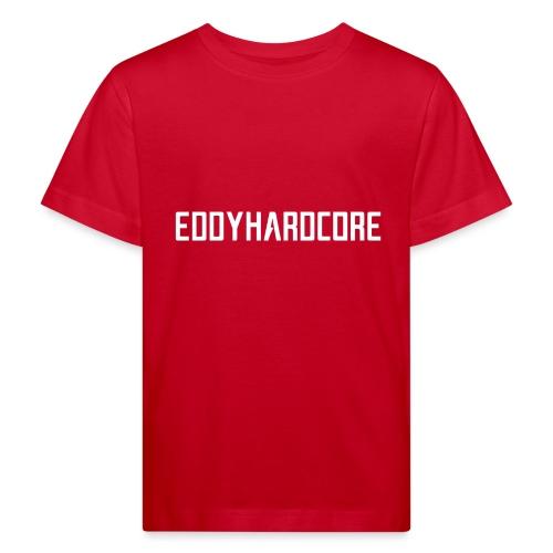 EddyHardcore logo nek transparant png - Kinderen Bio-T-shirt