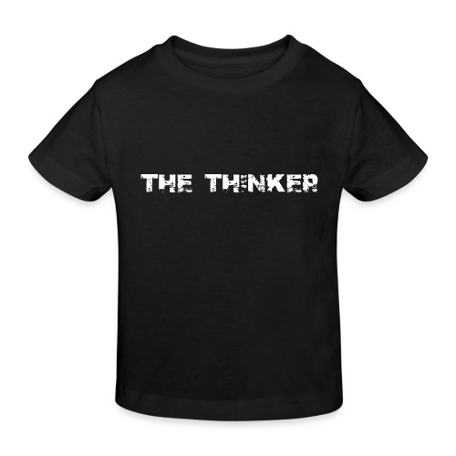 the thinker der Denker - Kinder Bio-T-Shirt