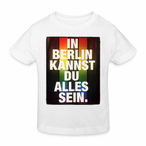 City of Freedom Berl!n - Kids' Organic T-Shirt