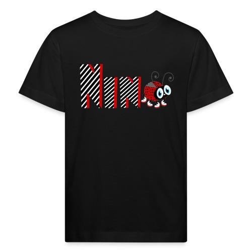 9. Jahr-Familien-Marienkäfer-T-Shirts Geschenk-Tochter - Kinder Bio-T-Shirt