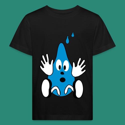 kleiner Tropfen - Kinder Bio-T-Shirt