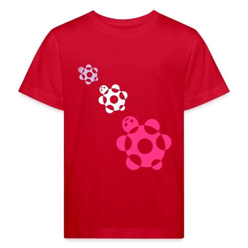 tartarughe - Maglietta ecologica per bambini