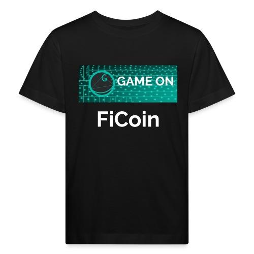 GameOn Light Tekst - Kinderen Bio-T-shirt