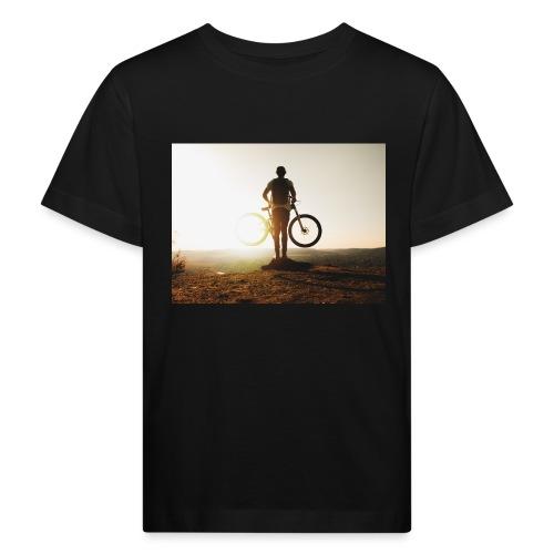 Mountain bike - Ekologisk T-shirt barn
