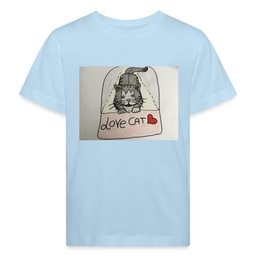 Love cat - Maglietta ecologica per bambini