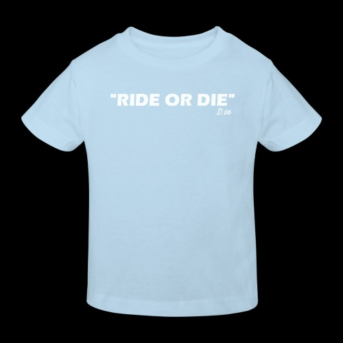 Ride or die (blanc) - T-shirt bio Enfant