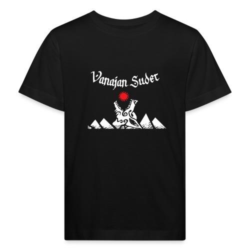 Auringonsyöjä - Lasten luonnonmukainen t-paita