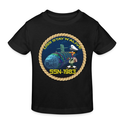 Command Badge SSN-1983 - Kids' Organic T-Shirt